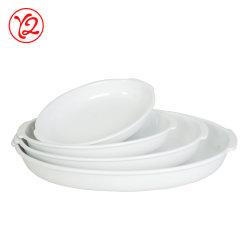 8-12 polegadas Placas Dinnerware plástico com orelha por 4 a 6