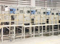 El proceso de acabado textil teñido fabricante de máquinas de lavado de blanqueamiento continuo