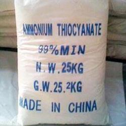Thiocyanate d'ammonium cristallin blanc avec le plus bas prix