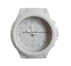 Wekker van de Lijst van het Silicone van de Decoratie van het Huis van de Vorm van het Horloge van China de In het groot PromotieVoor Studenten