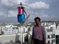 Moins de 25dB lévitation magnétique vertical de 400 W pour utilisation à domicile de l'éolienne