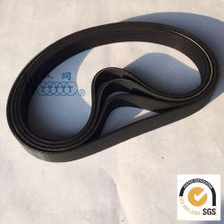 Courroie trapézoïdale nervurée courroie de caoutchouc industriel de la courroie de transmission de puissance