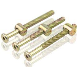 M 6 X 55 mm de cabeza hexagonal Tornillos tornillos roscados de tornillo con muebles