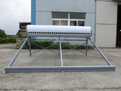 Non-Pressurized tube sous vide de chauffe-eau solaire