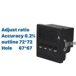 Installer intégré de haute précision Amperemeter numérique AC Phase unique