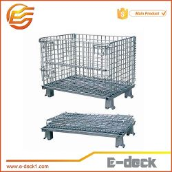 E-Plate-forme Ware Chambre Wire Mesh conteneur de stockage