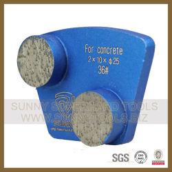 Алмазные шлифовальные пола конкретные пластину (SYYH-01)