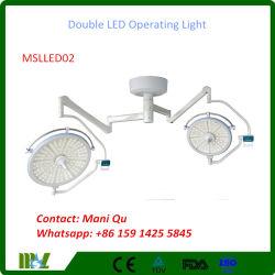 Lumière Shadowless d'opération de la chirurgie médicale DEL (MSLLED02)