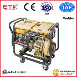 Diesel Generator en Lasser Geplaatste/Diesel van Genset &Welding Reeks (DWG6LE)