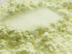 La agricultura de polvo de azufre