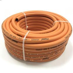 Commerce de gros flexible haute pression en PVC tressé en caoutchouc du tuyau flexible pneumatique pour gaz GPL