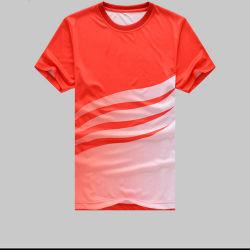 Nuovo disegno All Over le magliette di stampa di sublimazione della tintura