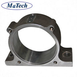 Maquinaria personalizada de la tapa del cojinete acero aleado de fundición cera perdida