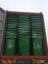 緑360L HDPE Wheeled GarbageかTrash BinまたはCan