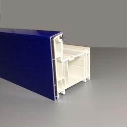 L'aluminium enduit les vitres en plastique du châssis pour portes à battants