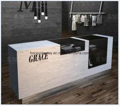 Diseño moderno de color blanco de mesa mostrador de recepción/ mostradores de recepción de Caffe Shop