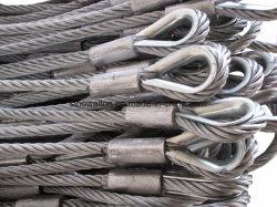 Câble métallique galvanisé outil / la corde en acier de 18 mm des élingues de levage