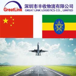 L'expédition de l'air en provenance de Chine à Addis Abeba, Éthiopie