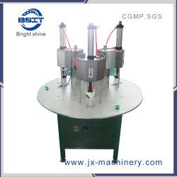 中国のパッキング機械(2つの密封ヘッド)を処理する茶によって隠されるコップのシーリング