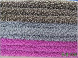 Polyester-Wollen AcrylSherpa Berber-Vlies 100%