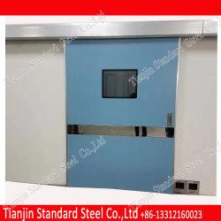 Экранирования рентгеновского Ручной вывод сдвижной двери с сервоприводом