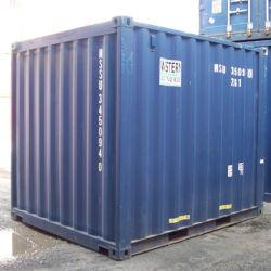 Le SCC certifié de l'utilisation spécial personnalisé Petit utilisé à sec les conteneurs de fret