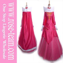 Sexy Sleeping Beauty aceitará as mulheres vestido de Princesa Aurora Cosplay Adulto