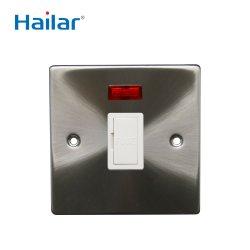 Hailar UK Metal estándar 3un fusible con neón