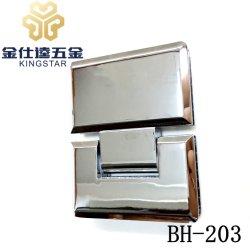BH-203 цинкового сплава конической кромкой и душем в ванной комнате петли двери стекло фитинг блока зажима