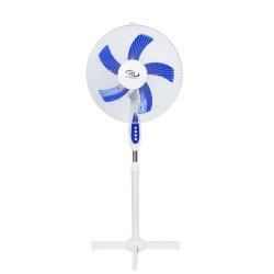 Nuevo modelo de ventilador de pedestal 16/18 pulgadas para el hogar y oficina con 5como Blade