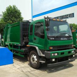 15m3 Isuzu Dongfeng HOWO hinterer Eingabe-Abfall-Abfall-Verdichtungsgerät-LKW