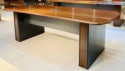 2019 bom mobiliário moderno em madeira de folhear mesa de conferência mesa de reunião mobiliário de escritório