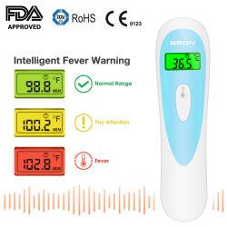 Termometro basale medico infrarosso di Digitahi per il corpo, la superficie e la stanza