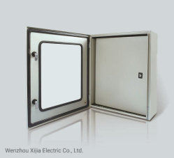 Casella di distribuzione elettrica del metallo dell'alimentazione elettrica con due portelli