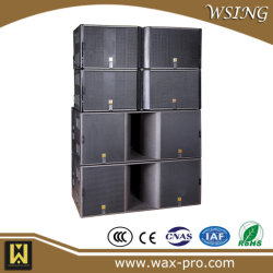 Doble Three-Way 15'' 600W Line Array de pro audio Altavoz PA K1 Altavoz de la camisa del pasivo