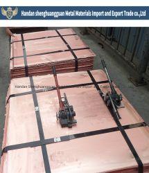 Mejor Precio de alta calidad de cátodos de cobre de alta pureza