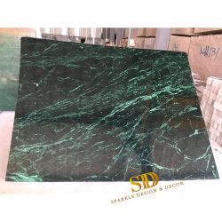 Китай зеленый мраморные плитки для продажи зеленого мрамора цветов фона для большие настенные украшения