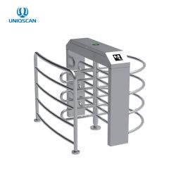 Une sécurité intelligente de la moitié de la hauteur des spécifications de tourniquet avec contrôle d'accès automatique