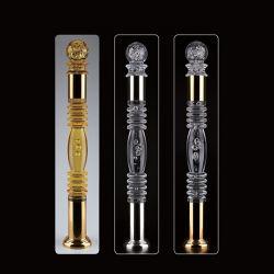 Baranda de escalera de cristal de la moda Pilar Accesorios para la decoración del hogar