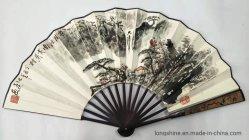 Складные электровентилятора системы охлаждения двигателя в классическом китайском Hand-Painted гор и вод живопись