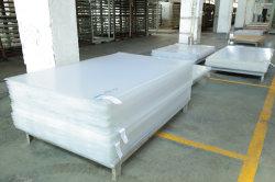China 3mm Branco Porcelana expressos a folha de acrílico com 4*6 Painel de tamanho Perspex 402