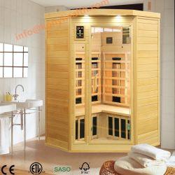 Matériel de fitness à infrarouge lointain en bois avec chauffage de carbone à l'intérieur, un Sauna Salle de Bain Sèche comme thérapie chaud Sauna Dome