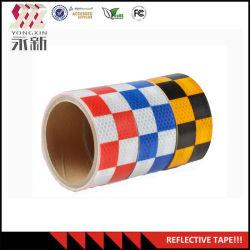 Haute qualité matériau réfléchissant de la sécurité routière Feuille de vinyle auto-adhésif ruban réfléchissant