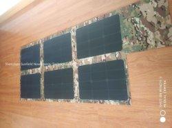 ETFE portatile 120 watt che piegano il sacchetto del caricatore del comitato solare per i cellulari di campeggio del computer portatile di Powerbank della batteria 12V