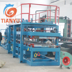 A lã de rocha/máquina de formação de rolos do painel do tipo sanduíche de EPS/Linha de Produção de chapa de tejadilho