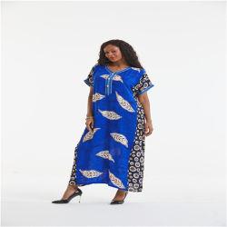 Hotsale 아프리카 꽃 여자 Dashiki 일본 옷 복장 겉옷 인쇄 의류