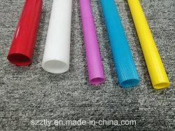 De witte Blauwe Rode Gele Purpere Plastic ABS Uitgedreven Buis van pvc rond