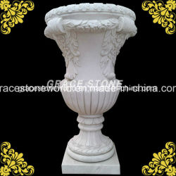 Pot de fleur de pierre de jardin (GS-FL-111)