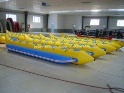Nouveau style de 6 personnes 18pieds 5.5m Singlebodybanana bateau banane, simple rangée bateau de course sans alimentation Unpowed Motorless Draggy Bateau Bateau Bateau pour la vente
