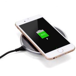 2017 caricabatteria wireless portatile Qi più venduto per telefoni wireless, ricarica wireless per Samsung Galaxy S6 S6 Edge